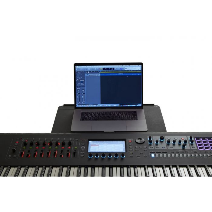Roland Fantom Synthesizer with Laptop