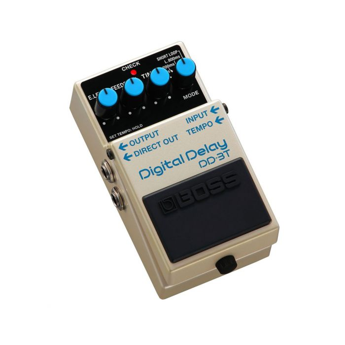 Front right angled view of a Boss DD-3T Digital Delay