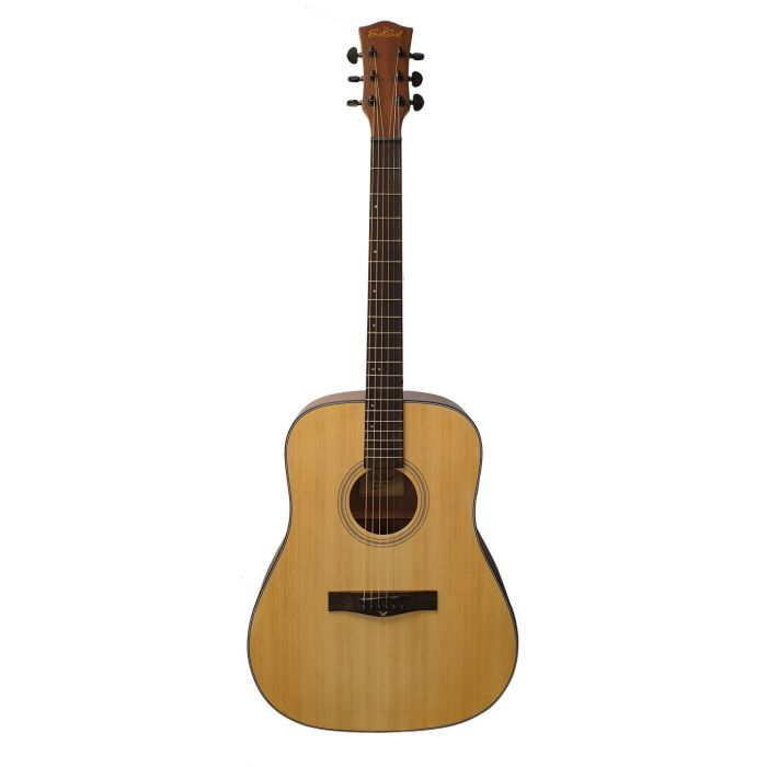 Eastcoast D1 Dreadnought Acoustic Guitar with a Satin Natural Finish