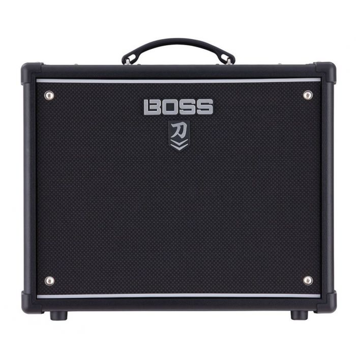 Full frontal view of a BOSS Katana 50 MKII Guitar Amplifier