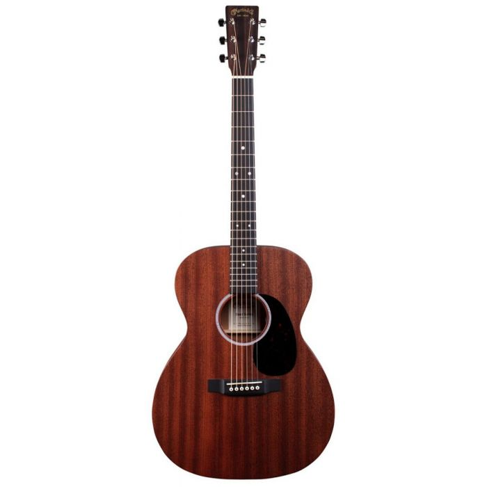 Full frontal view of a Martin 000-10E Sapele Electro Acoustic Guitar