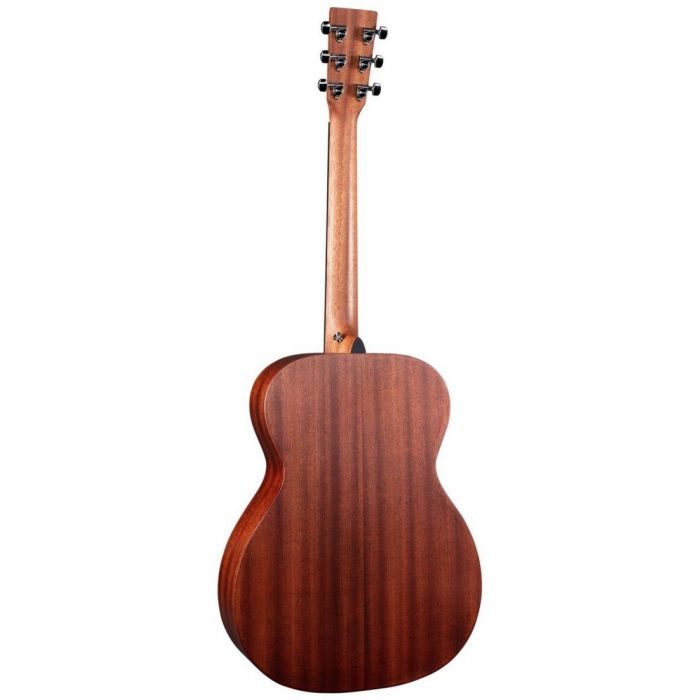 Full rear-side view of a Martin 000-10E Sapele Electro Acoustic Guitar