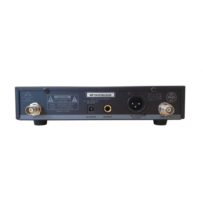 Rear View of Wharfedale AeroLine D-206A Wireless Receiver