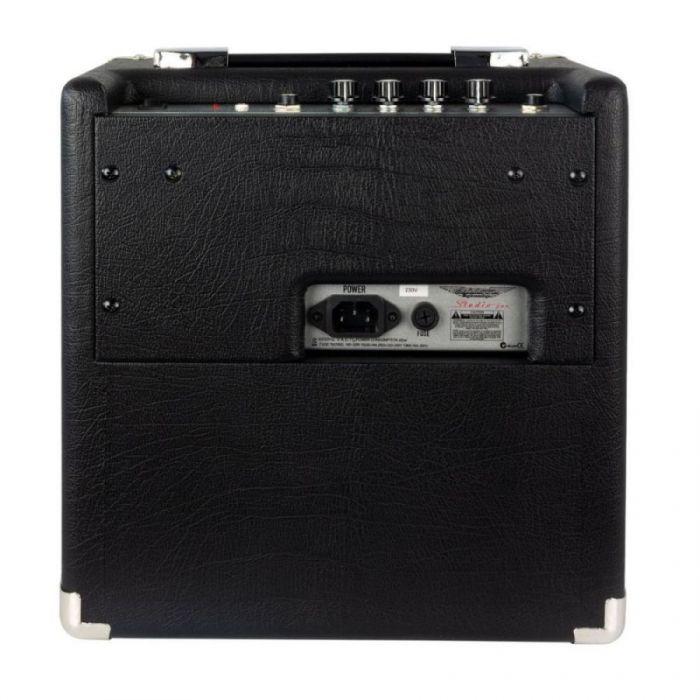 Full rear view of an Ashdown Studio Junior 15 watt Bass Combo amplifier