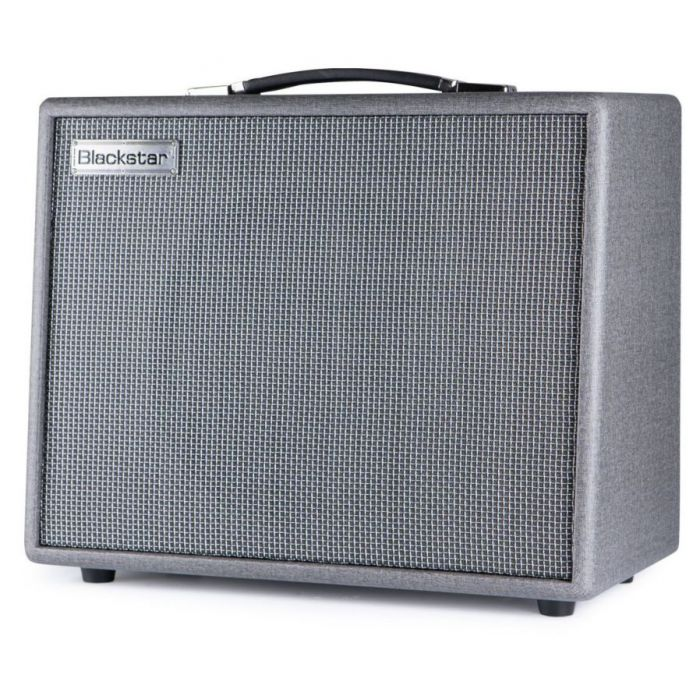 Frotn right-angled view of a Blackstar Silverline Special 50 watt Combo Amplifier