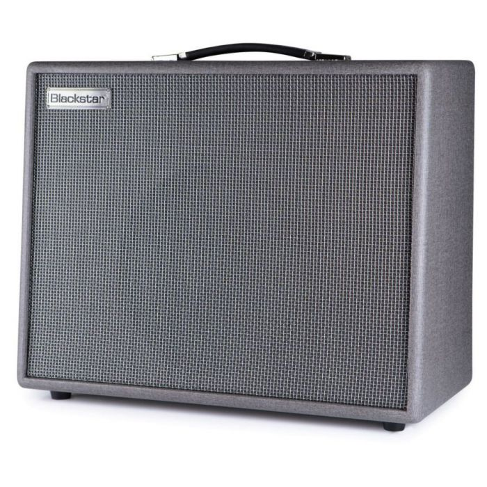 Front right-angled view of a Blackstar Silverline Deluxe 100 watt Combo Amp