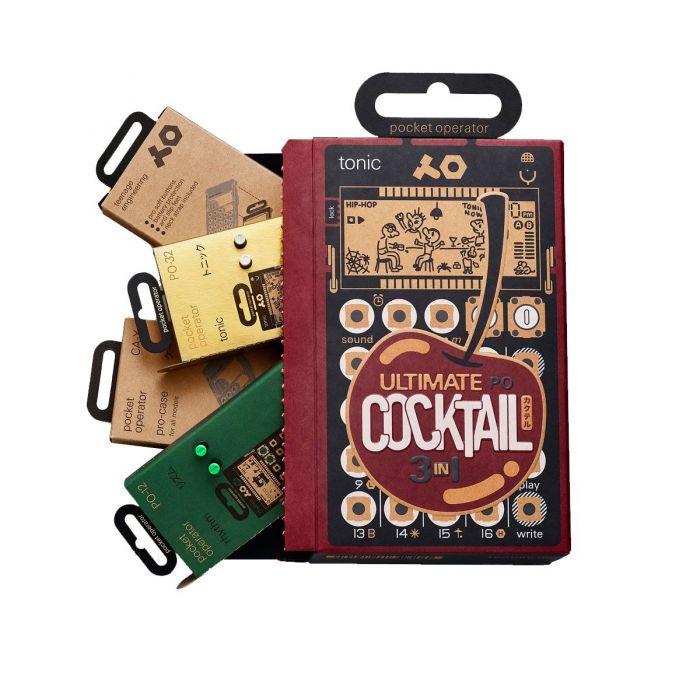 Teenage Engineering Pocket Operator Ultimate Cocktail Set
