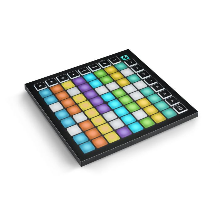 Top angled view of a Novation Launchpad Mini MK3 USB MIDI Controller