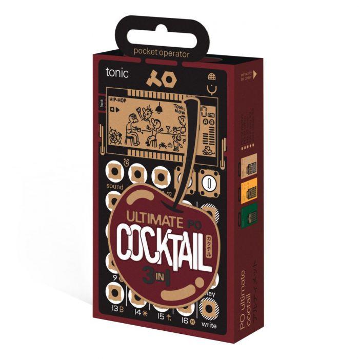 Teenage Engineering Pocket Operator Ultimate Cocktail Packaging