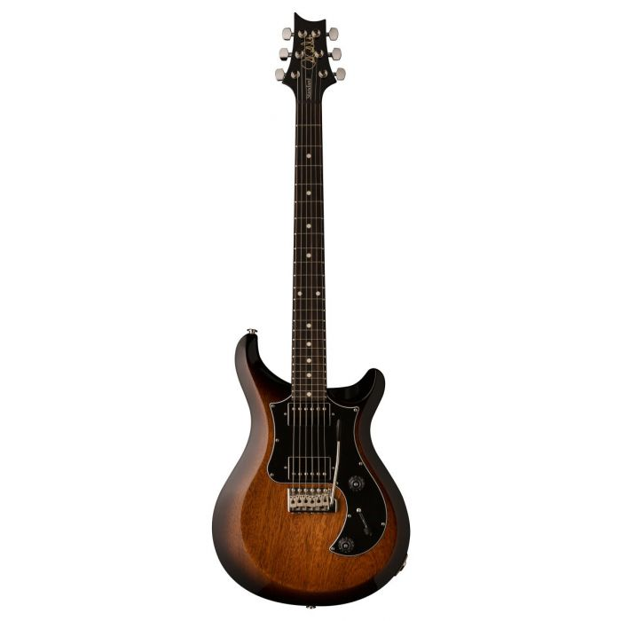 Full frontal view of a PRS S2 Standard 24 Guitar McCarty Tobacco Sunburst