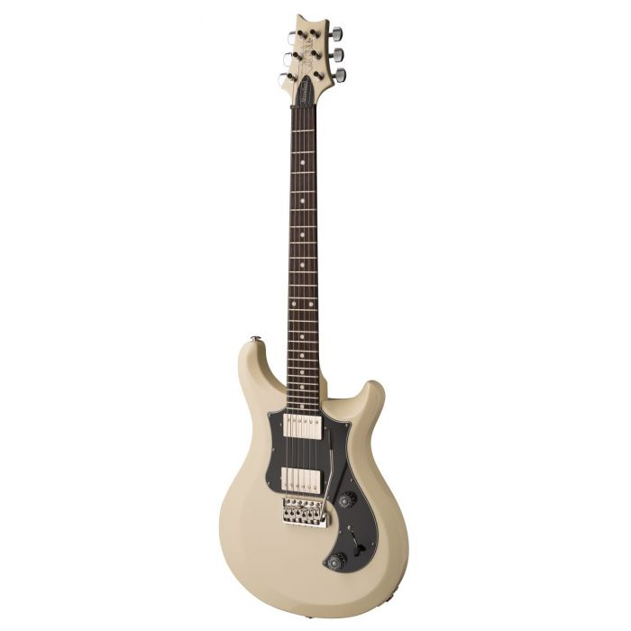 Angled View of PRS S2 Standard 24 Antique White Electric Guitar