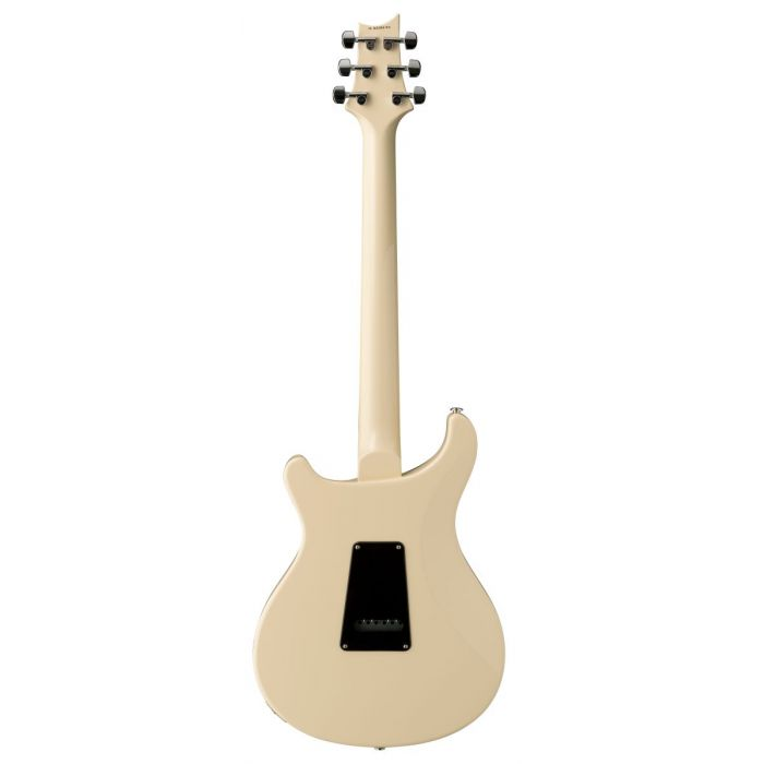 Rear View of PRS S2 Standard 24 Antique White Electric Guitar