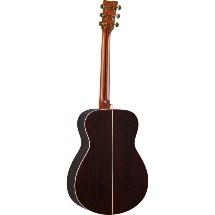 Rear of Yamaha LSTA Acoustic Guitar