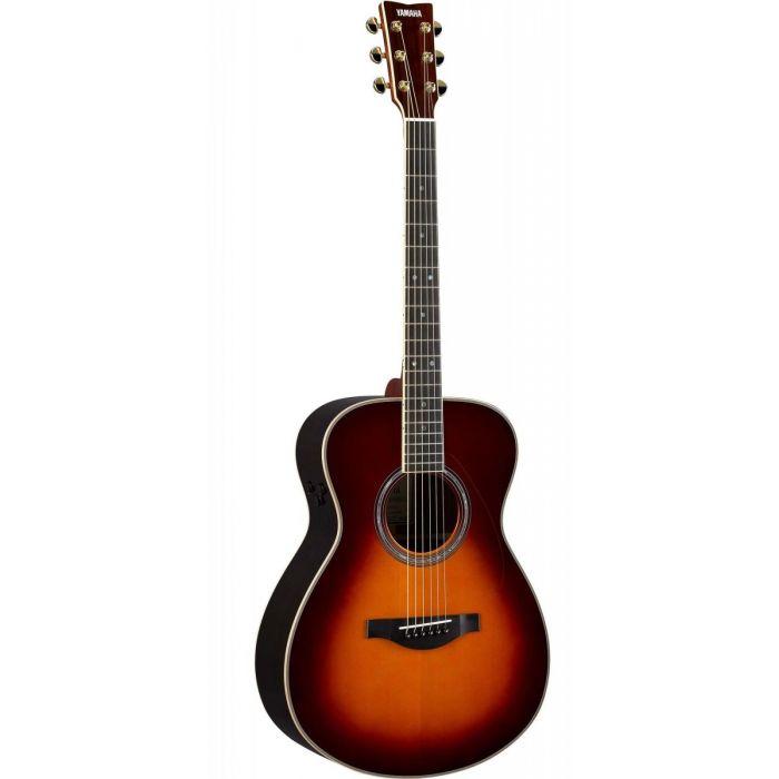 Yamaha LSTA TransAcoustic Acoustic Guitar, Brown Sunburst