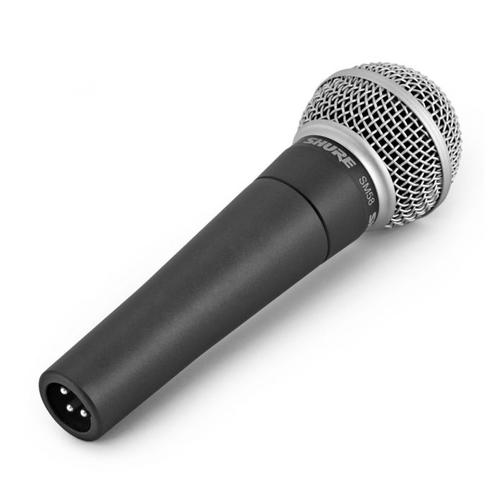 Shure SM58 Dynamic Microphone angle in mic clip