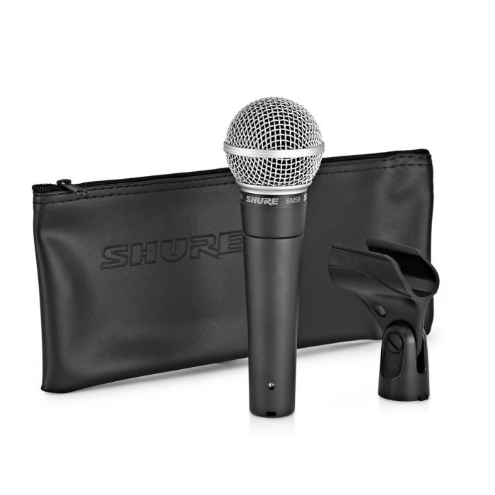 Shure SM58 Dynamic Microphone including Accessories