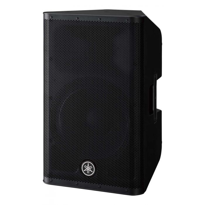 Angled View of Yamaha DXR12 MKII Active PA Speaker