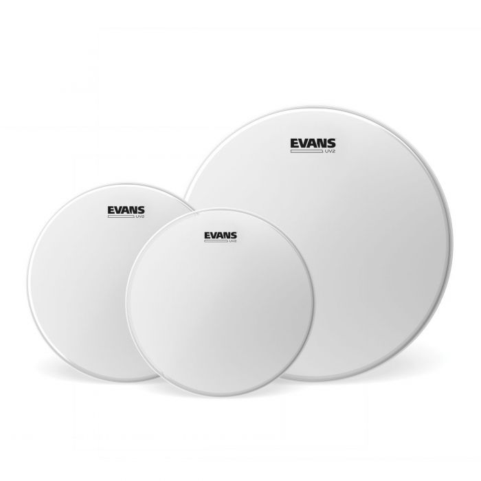 Full view of an Evans UV2 Coated Tom Pack - Fusion