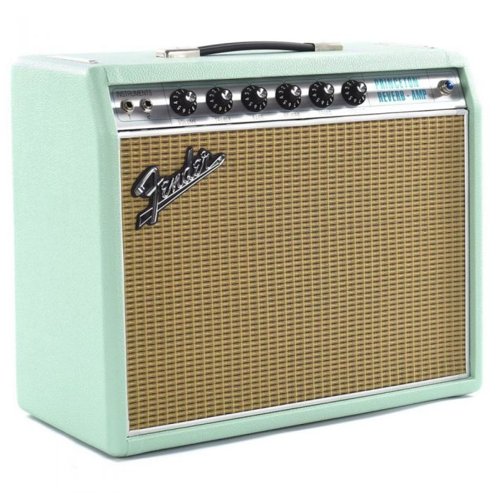 FSR 68 Princetone valve amp in a limited edition Surf Green finish
