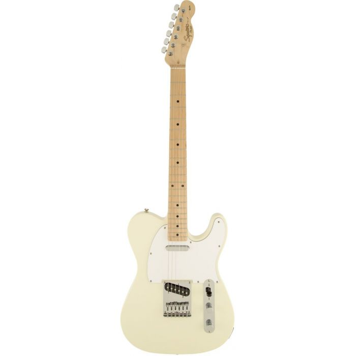 Squier Affinity Telecaster in Arctic White - Full Picture