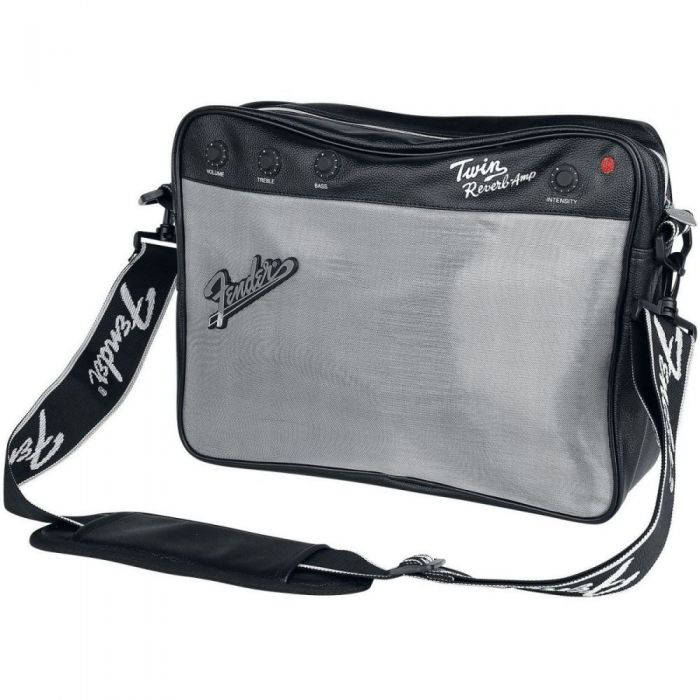 Messenger bag with Fender Twin Reverb amplifier graphics
