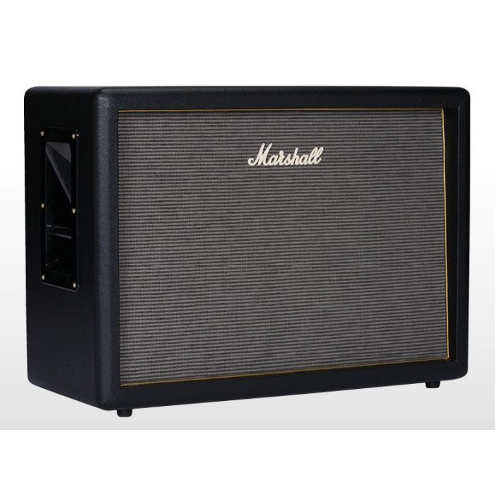 Marshall Origin 212 cabinet shown from an angle
