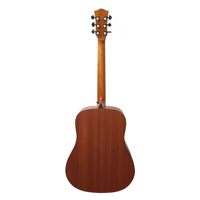 Rear View of Eastcoast D1 Dreadnought Acoustic Guitar