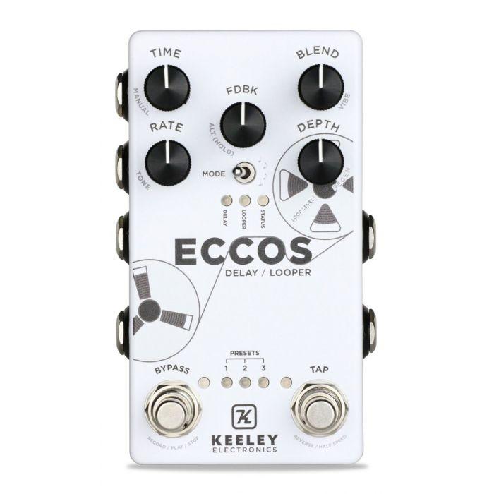 Keeley ECCOS Delay/Looper pedal