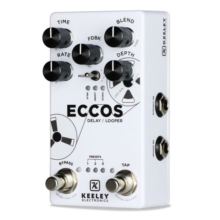 Premium quality Delay pedal with Looper function
