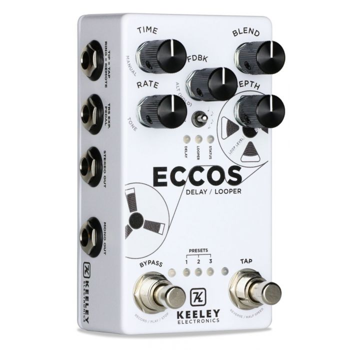 Boutique Delay and Looper pedal in one