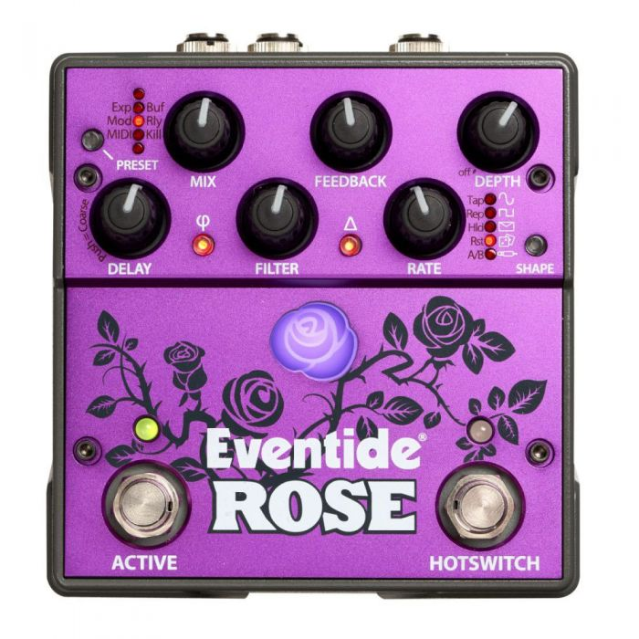 High Quality modulated delay pedal
