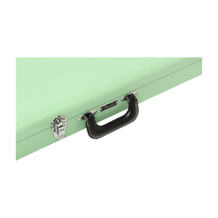 Handle Detail of Fender Classic Series in Surf Green