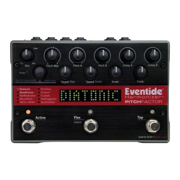 Studio-quality harmonizer pedal, the Eventide PitchFactor
