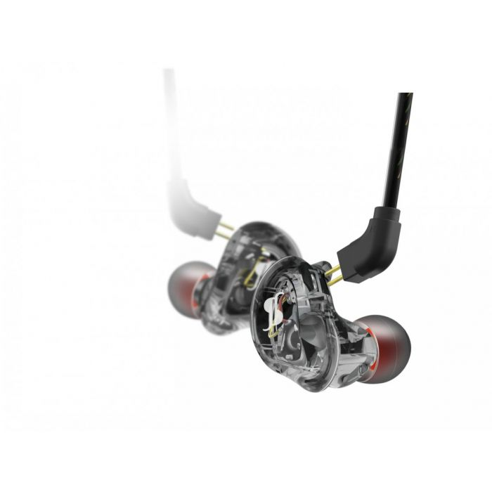 Stagg SPM-235 HR,Sound-isolating In-Ear-Monitors Black Detailed