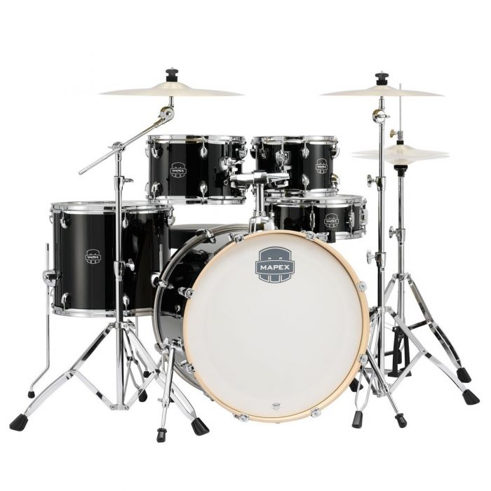 Mapex Special Edition Drum Kit in Black Full Front