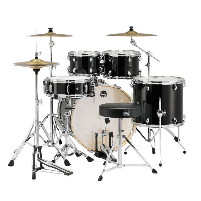 Mapex Special Edition Drum Kit in Black Full Back