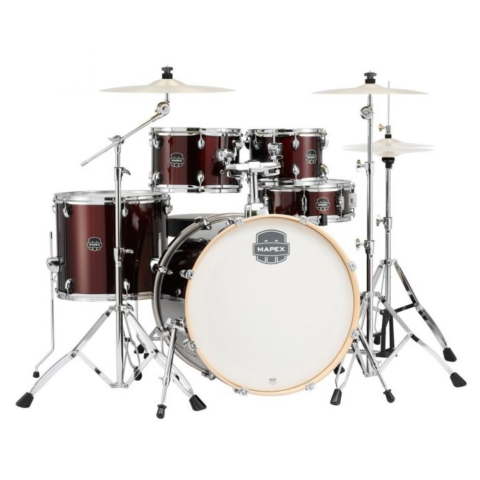 Mapex Limited Edition Storm Drum Kit in Red