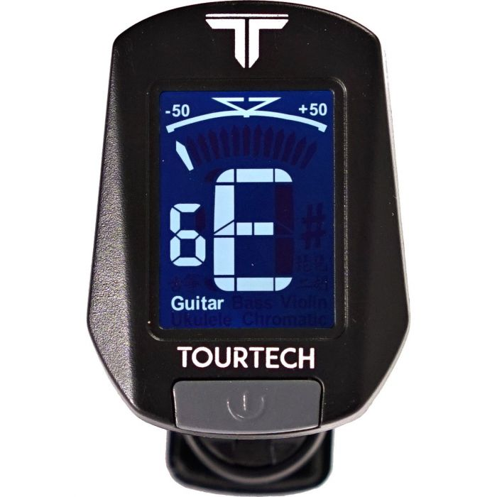 TourTech clip on tuner for guitar or bass