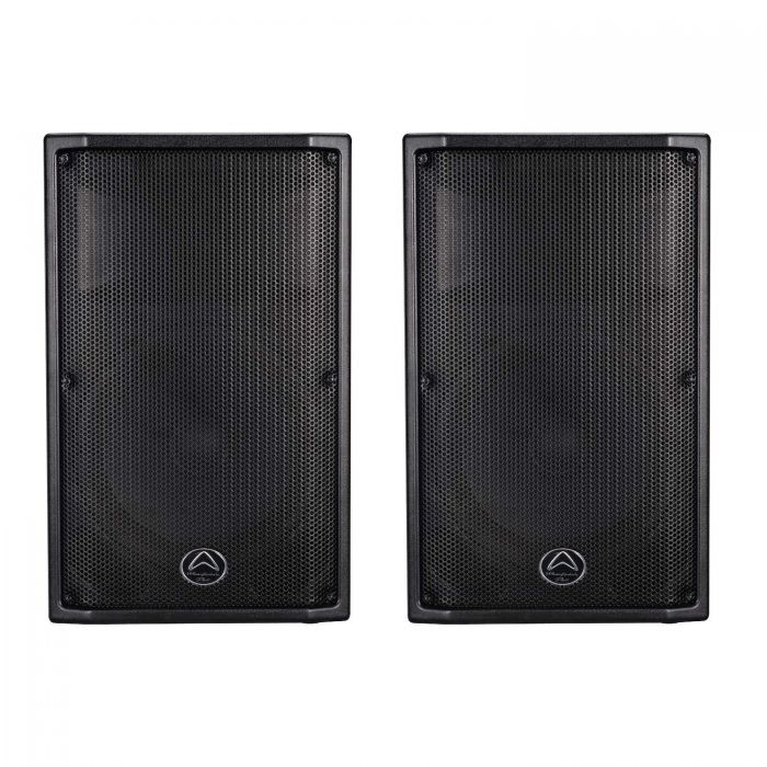 Pair of Wharfedale Pro PSX112 Active Speakers Front View