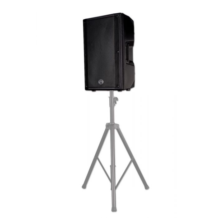 Wharfedale Pro PSX112 Active Speaker on stand
