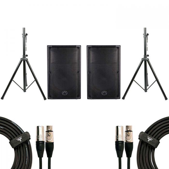 Wharfedale Pro PSX112 Speaker Bundle Contents