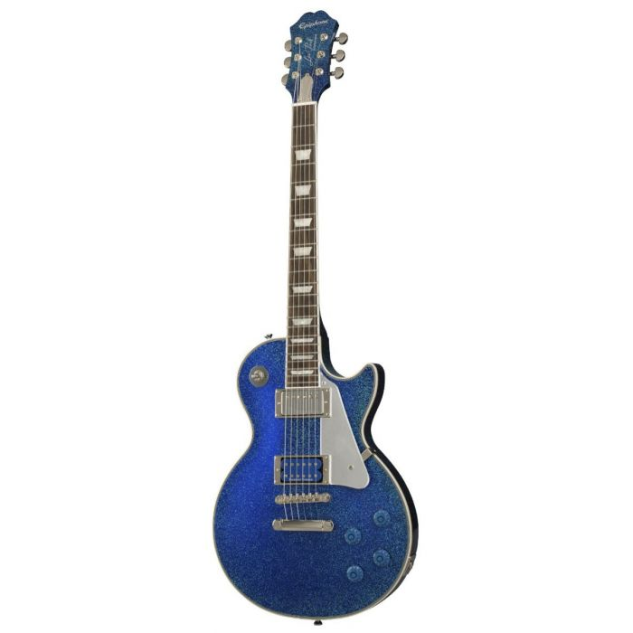 Tommy Thayer signature Epiphone Les paul guitar with an Electric Blue finish