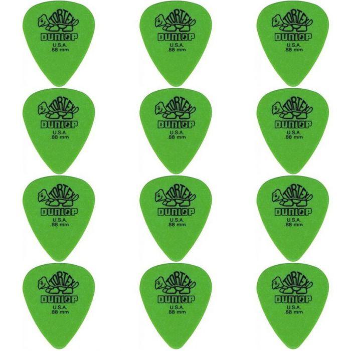 Set 12 of Dunlop Guitar Picks