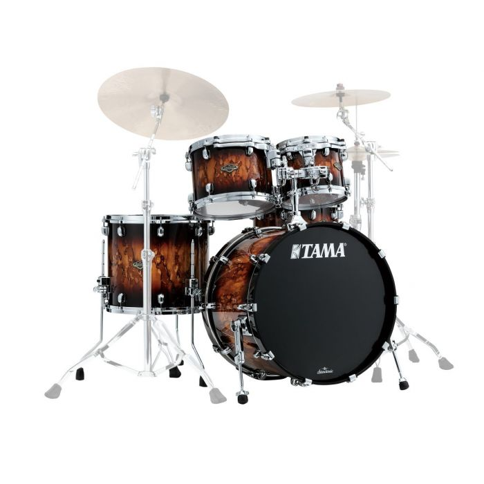 Tama Starclassic 4 piece Shell Pack in Molten Brown Burst