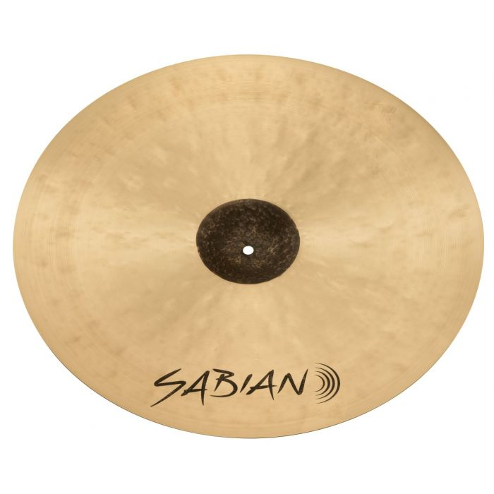 Underside View of the Sabian HHX 22 inch Complex Thin Crash Cymbal