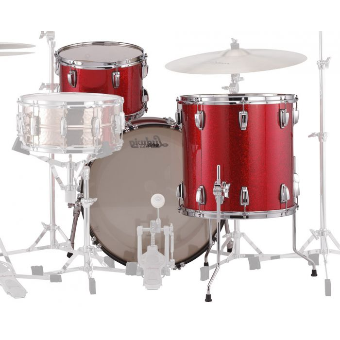 Rear View of Classic Maple in Red Sparkle