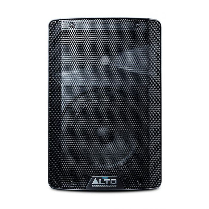 Front View of Alto TX208 Powered Speaker