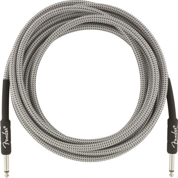 Stylish White Tweed Fender Cable