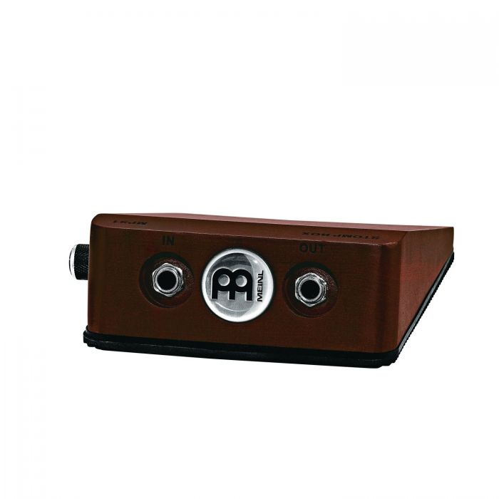 Rear View of Meinl MPS1 Analog Stomp Box