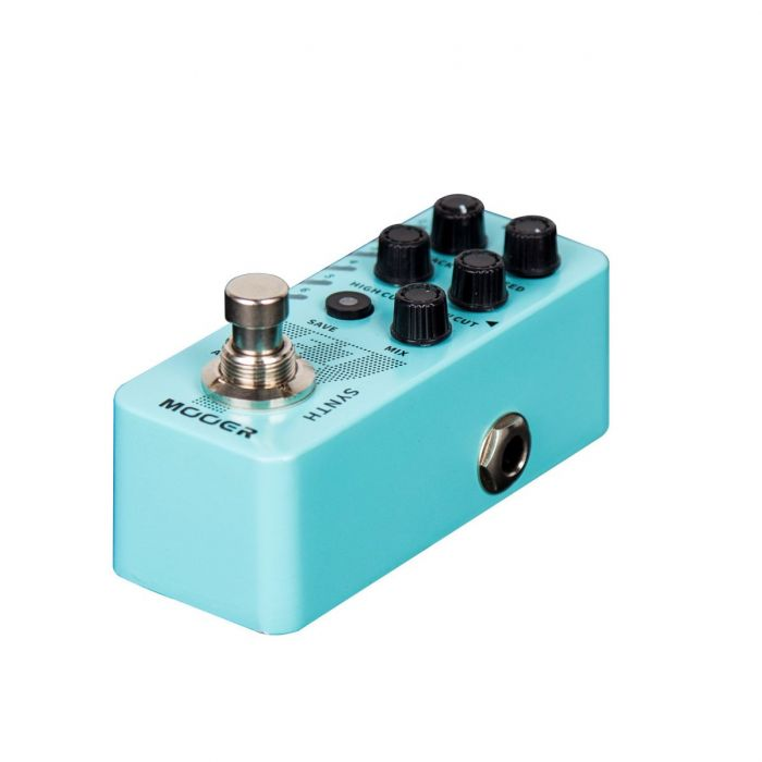 Right Side View of Mooer E7 Pedal